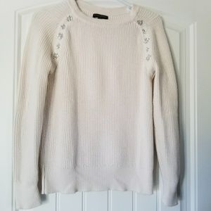 Banana Republic knitted ivory sweater